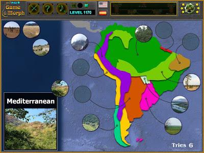 Природни Зони на Южна Америка