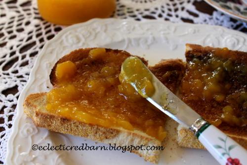 Mango Jam toast