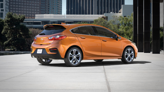 The New 2017 Chevrolet Cruze Hatchback
