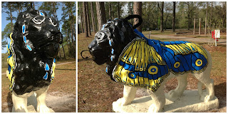 Crawfordville Florida USA Town Mascot