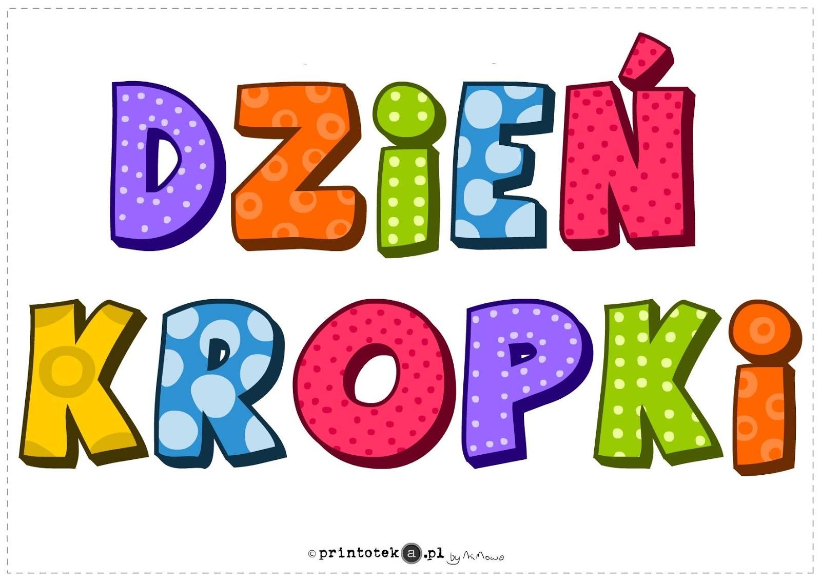 """Piosenka """"Kropka"""" ~ Zamiast kserówki."""