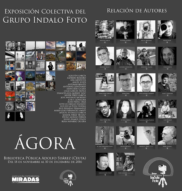 "Exposición colectiva del Grupo Indalo Foto ""Ágora"""