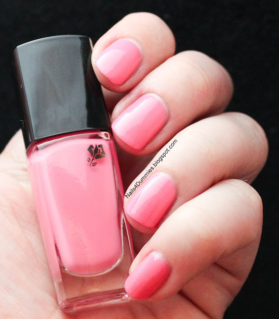 Nails4Dummies - Lancome Jolie Rosalie Swatch and Review
