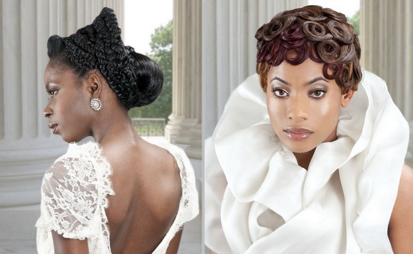 Latest Bridal Hairstyles For Black Women