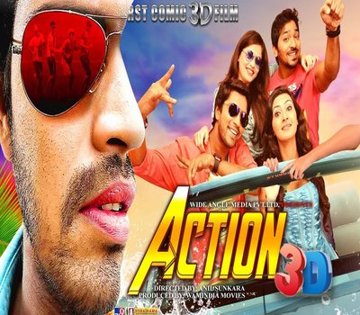 Action 3D (2018) Hindi Dubbed 720p HDRip