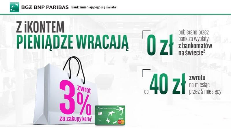200 zł za załozenie iKonta w BGŻ BNP Paribas