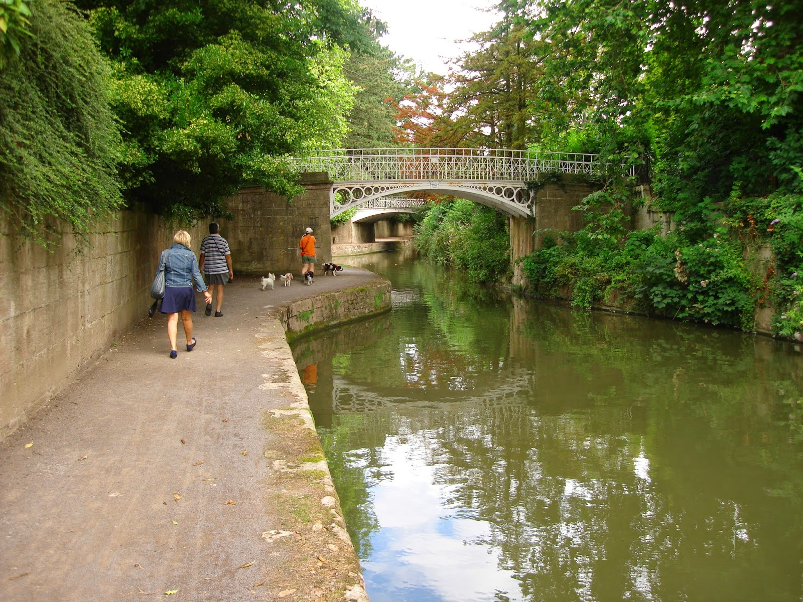Cast Iron Bridges, Sydney Gardens, Canal