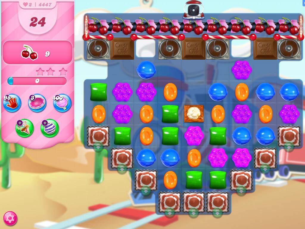 Candy Crush Saga level 4447