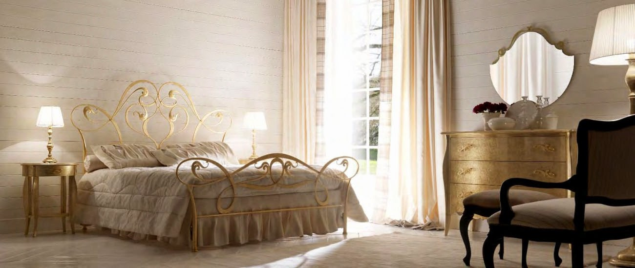 Design interior mobila dormitor de lux Italia - Design Interior | Amenajari interioare - Bucuresti | mobilier italian | mobila dormitor italia | Dormitor Italia Pat Gisele