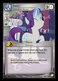 My Little Pony Rarity, Attention Horse Equestrian Odysseys CCG Card