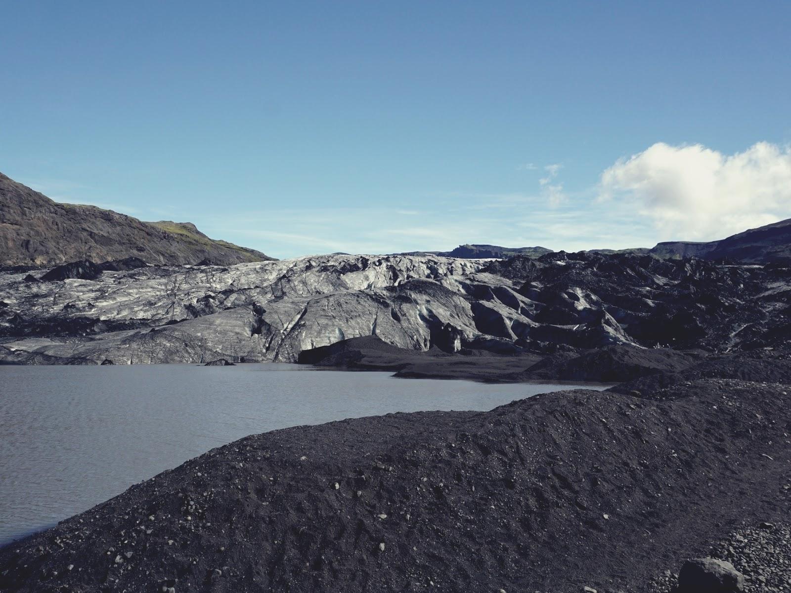 Lodowiec Solheimajokull, lodowiec, Myrdalsjokull, Islandia, południowa Islandia, zwiedzanie Islandii, panidorcia, Pani Dorcia blog, blog o Islandii, co zwiedzić w Islandii