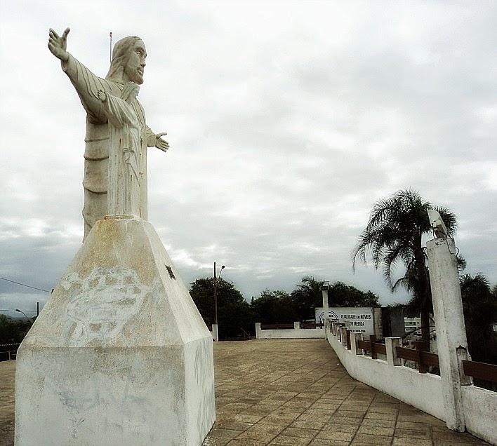 Morro do Cristo, em Barra Velha (SC)