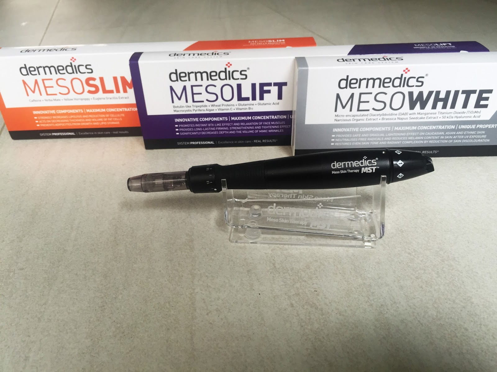 Dermedics mesowhite best skin whitening serum singapore for Motor city beauty salon