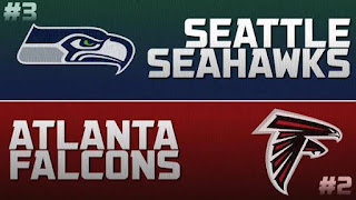 Seahawks Falcons NFL Playoffs Simulation