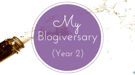 My Second Year Blogiversary