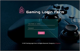 Template Login Awesome