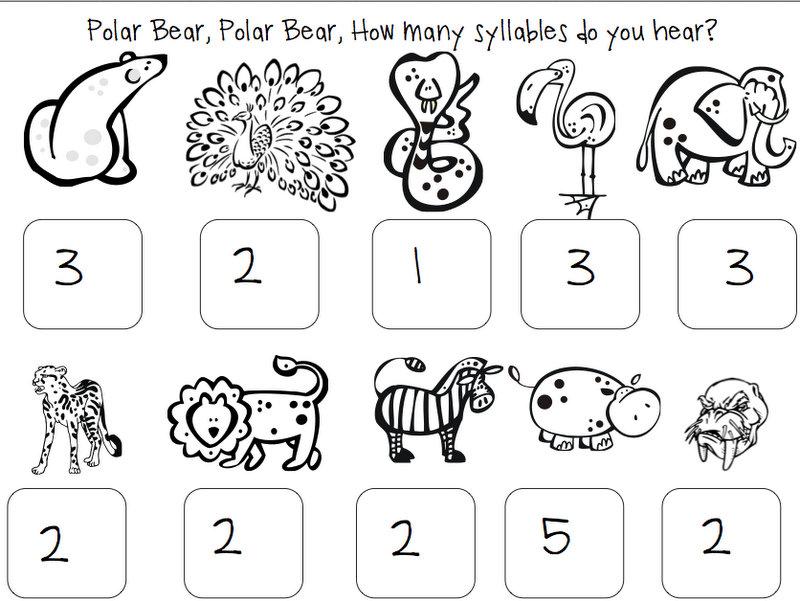 Speech Room News: Polar Bear, Polar Bear {Book Companion