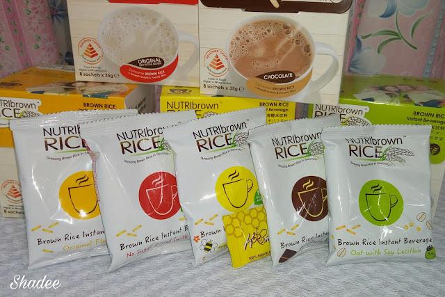 5 flavor of NutriBrownRice