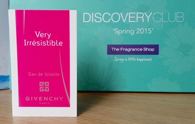 Givenchy Very Irresistible Mes Envies The Fragrance Shop Discovery Club Spring 2015