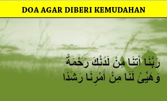 Doa Agar Diberi Kemudahan segala Urusan