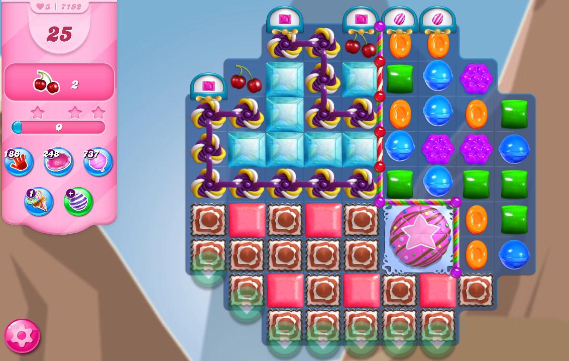 Candy Crush Saga level 7152