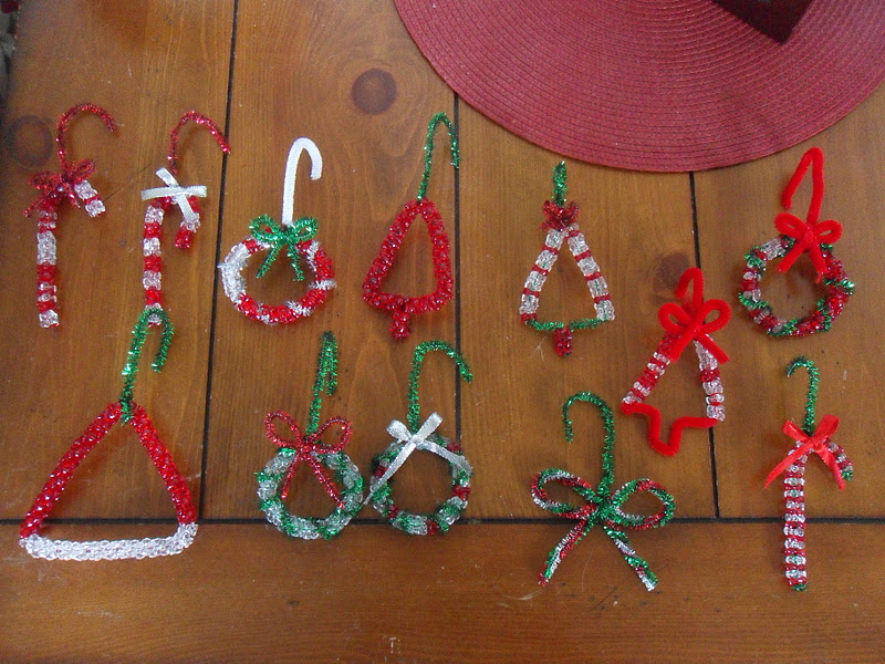 Beaded Christmas Ornaments.Simple Joy Crafting Beaded Christmas Ornaments With Kids
