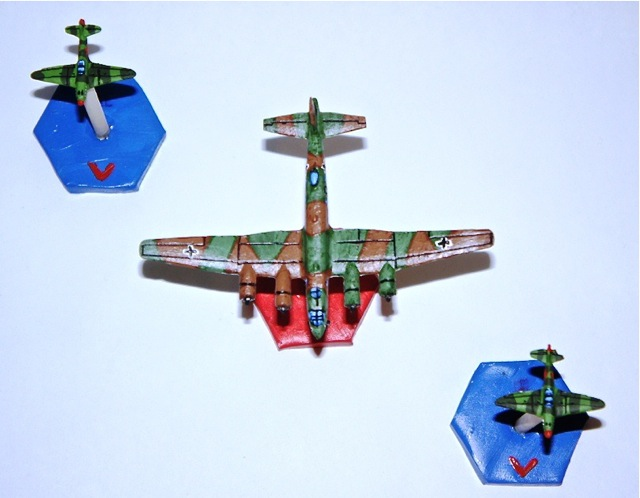 Analogue Hobbies: Keeping it Real: From MarkB: 1:300 WWII Aircraft