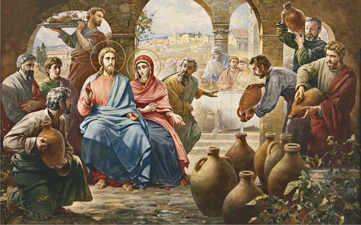 The Wedding Feast At Cana Our