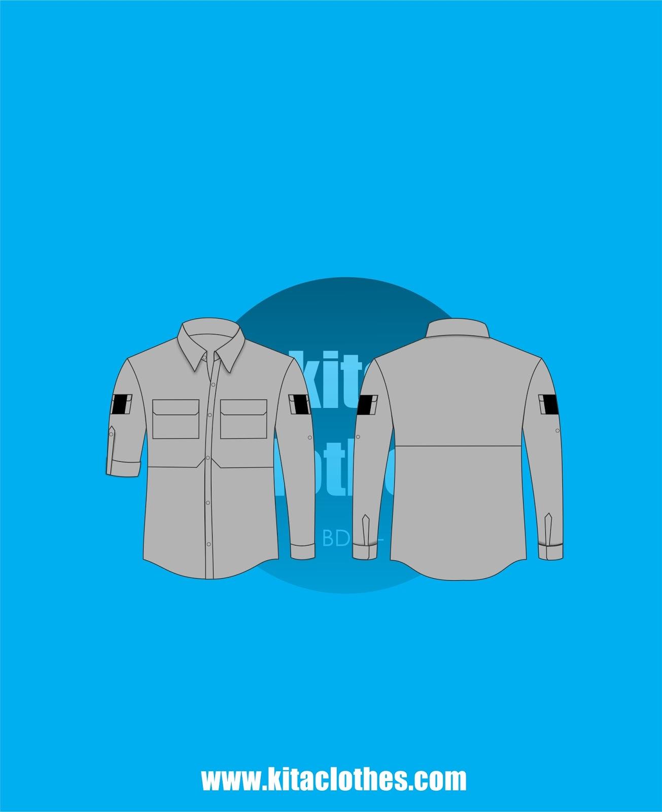 Template Kemeja Pdl : template, kemeja, Clothes, Bandung:, Template, Desain, Kemeja, Lapangan