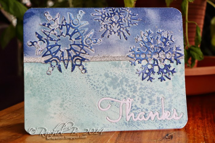 Thanks Card Impression Obsession