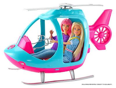 BARBIE - Helicóptero Barbie Dreamhouse Adventures | Travel Series - Helicopter  (Las muñecas se venden por separado)  Producto Oficial 2019 | Mattel FWY29 | A partir de 3 años  COMPRAR JUGUETE