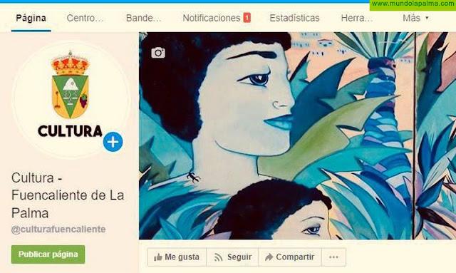 El Ayuntamiento de Fuencaliente crea un perfil en Redes Sociales para potenciar la Cultura del municipio