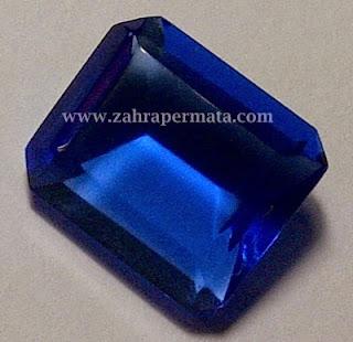 Batu Permata Blue Obsidian + Memo - ZP 191