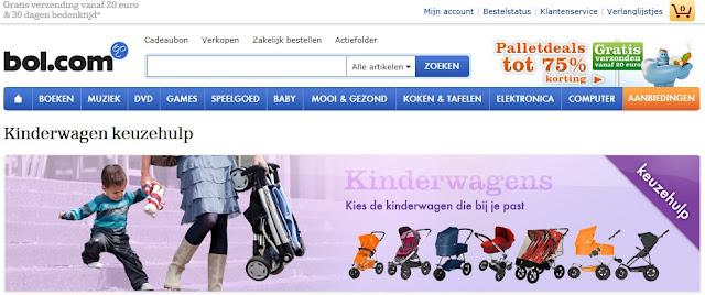 Bol.com babywinkel kinderwagen keuzehulp