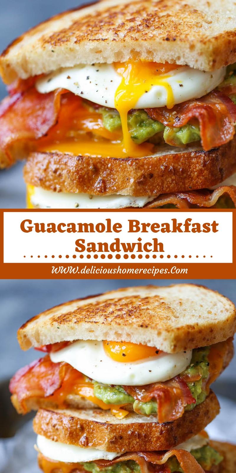 Guacamole  Breakfast Sandwich