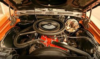 1971 Chevrolet Chevelle Malibu SS Engine