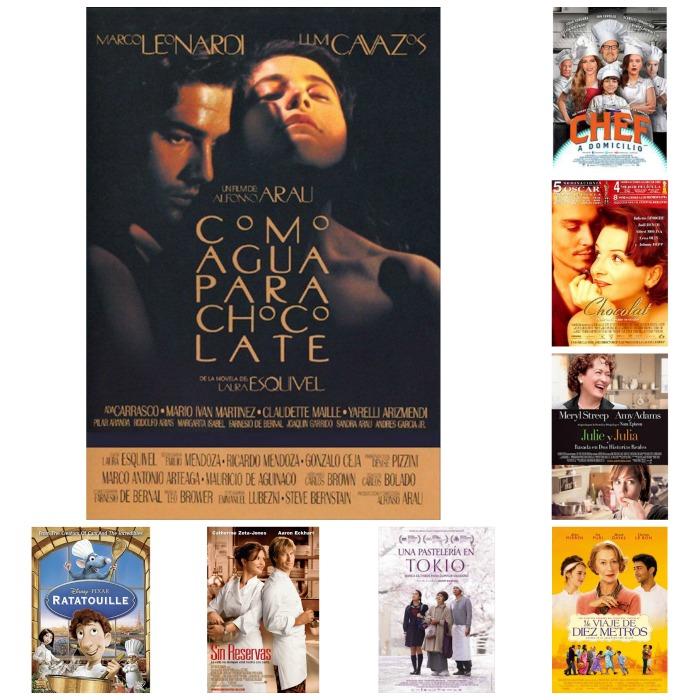 Películas con temática gastronómica