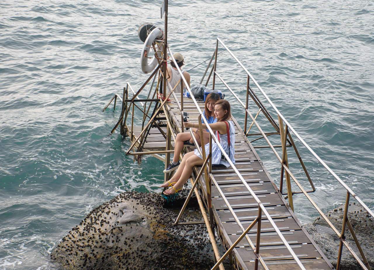 instagram spot sai wan swimming shed in hongkong