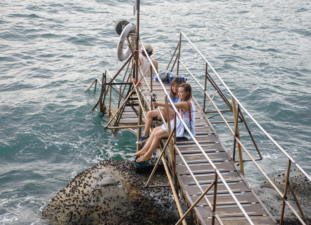 instagram spot sai wan swimming shed in hongkong