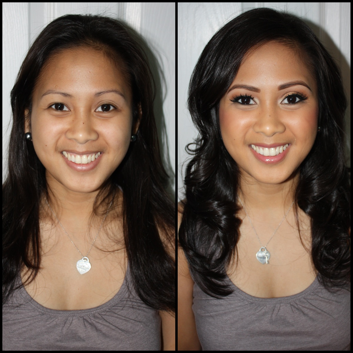get gorgeous: hair and makeup by zia: before and after
