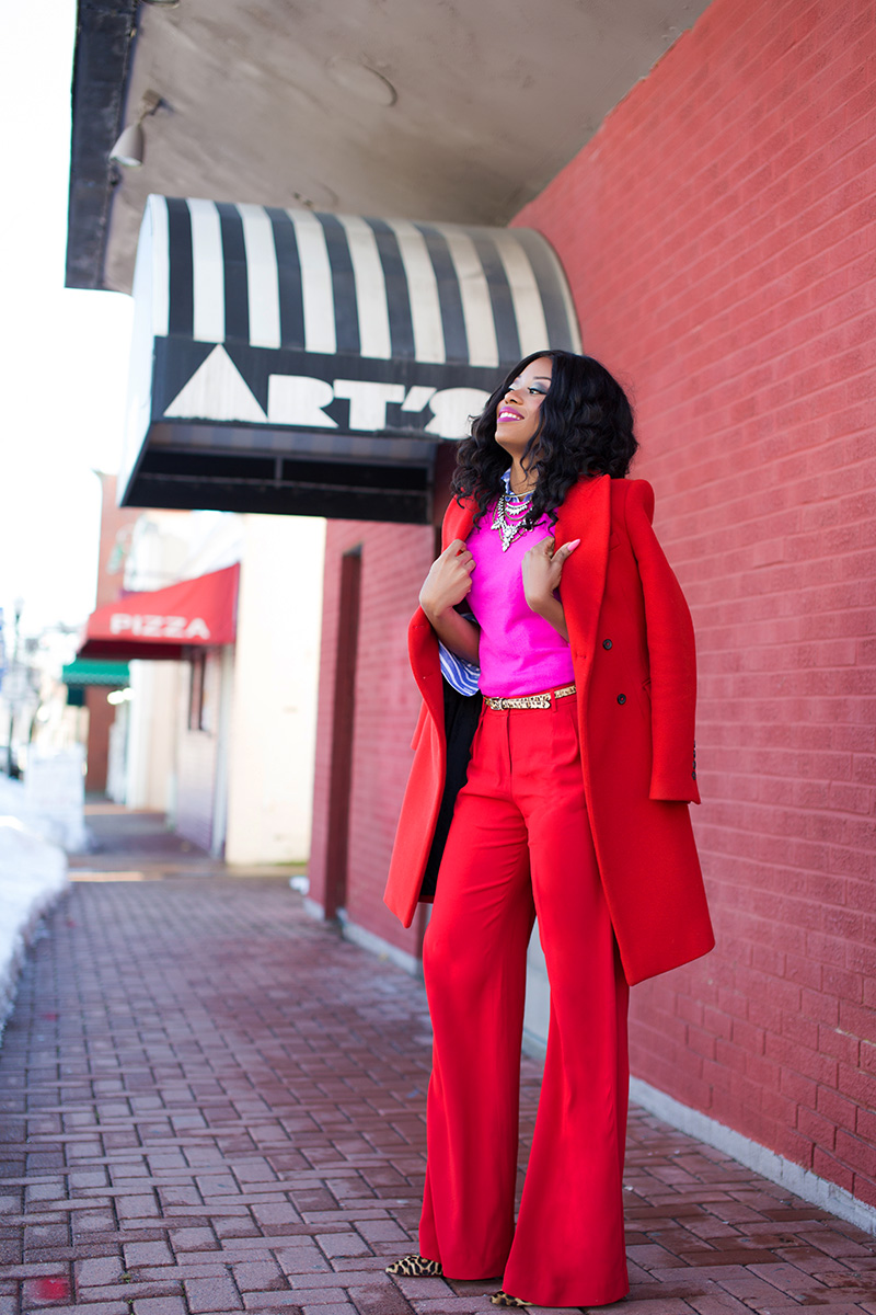 valentines day look, statement red coat, www.jadore-fashion.com