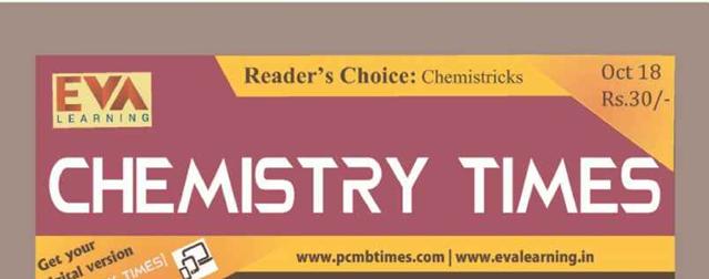Chemistry Times Magazine October 2018