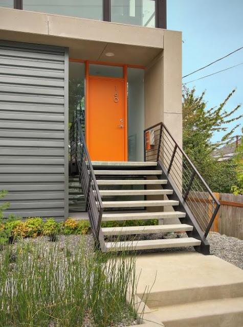 Delorme Designs Bright Front Doors