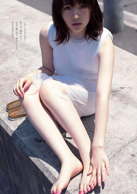 Yuki Mio 優希美青 Weekly Playboy 週刊プレイボーイ No 39-40 2016 Pics 3