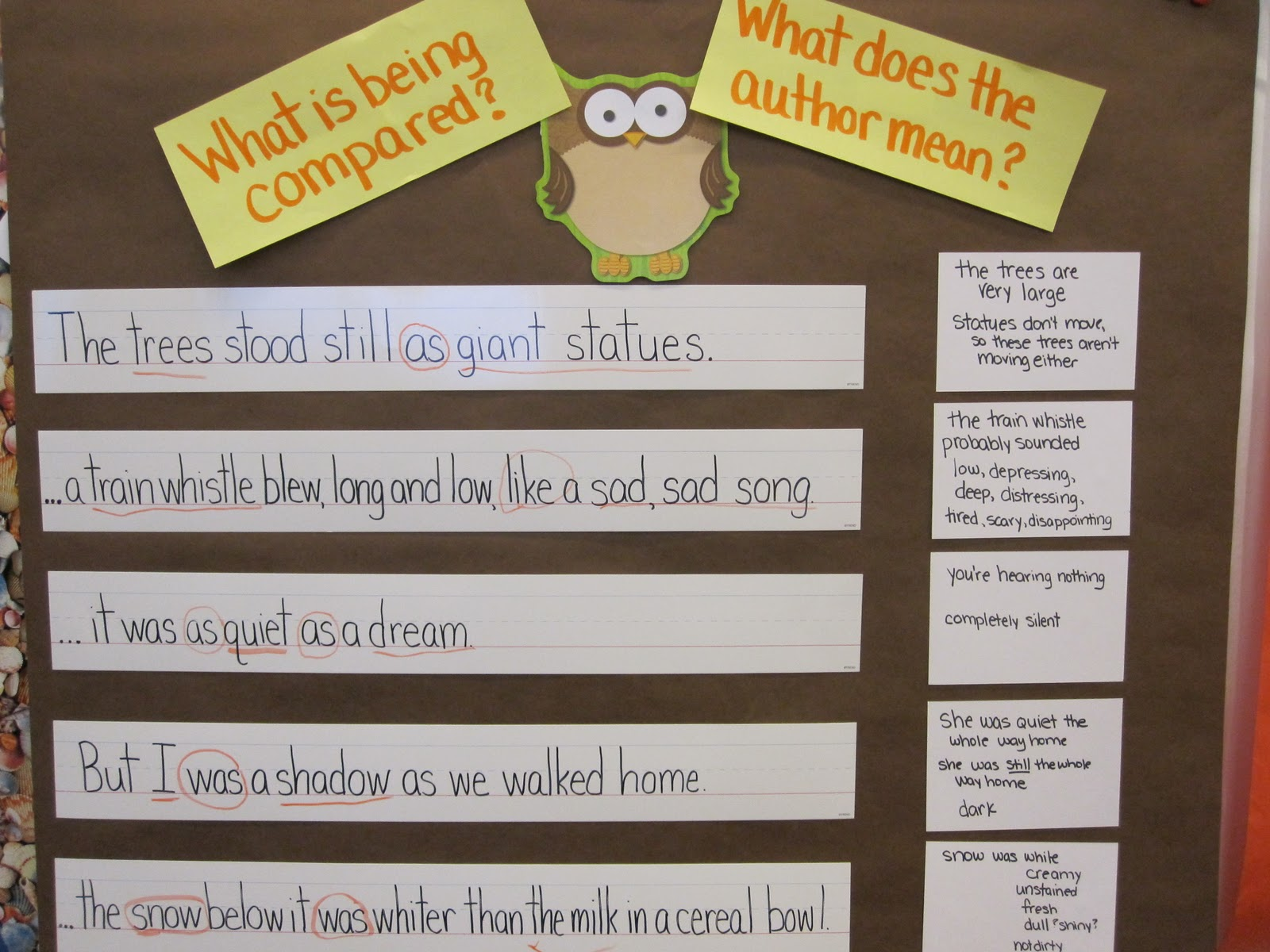 A Is For Apple Kindergarten Owl Moon Unit Mentor Text
