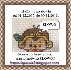 31 lipiec - haftowane przysłowia - zrobione