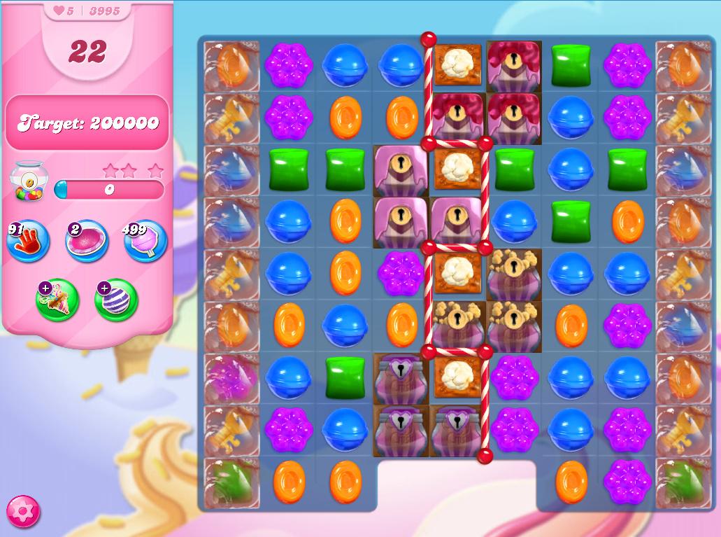 Candy Crush Saga level 3965