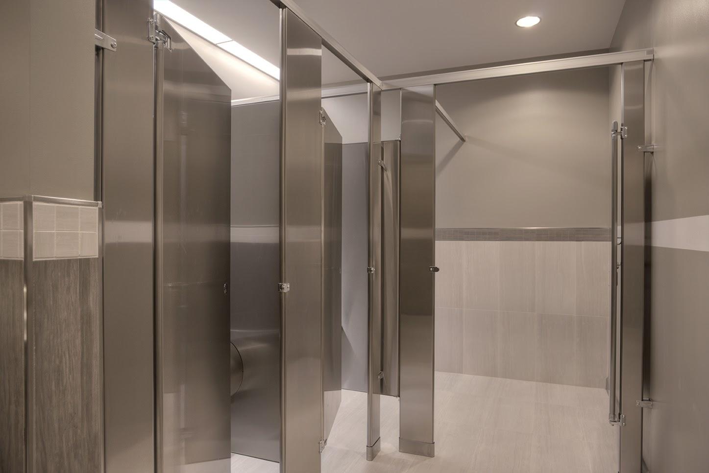 C2design Gender Neutral Commercial Restrooms