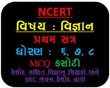 Download NCERT STD 6 TO 8 Science And Mathematics All