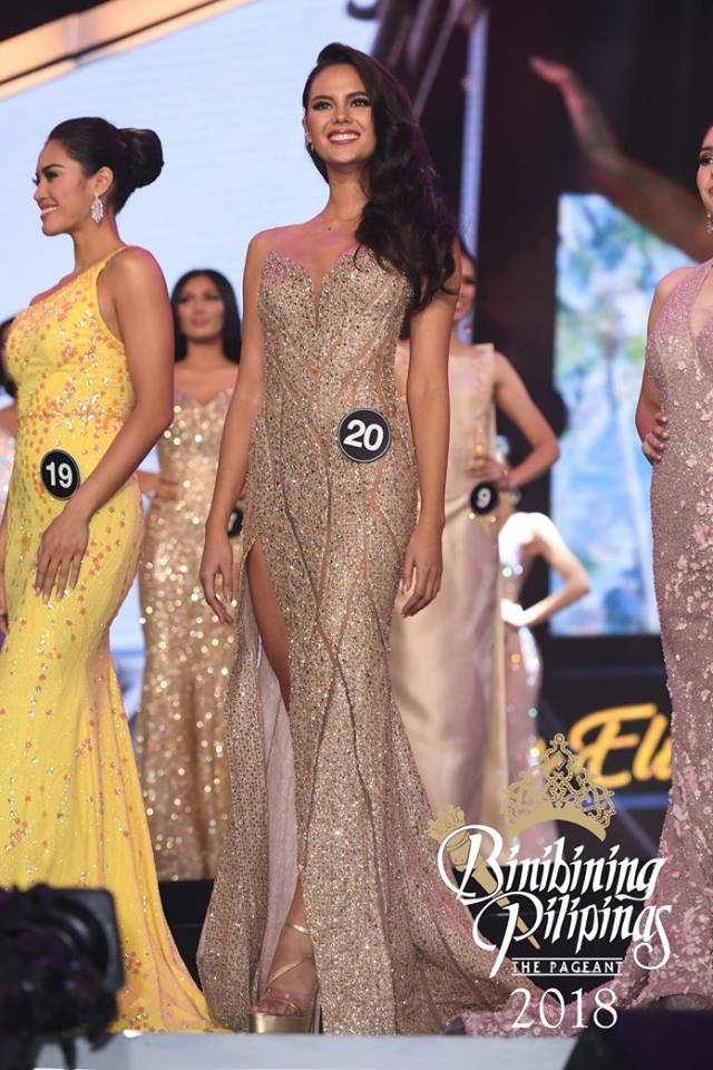 SASHES AND TIARAS.....Binibining Pilipinas 2018 Finals EVENING GOWN ...